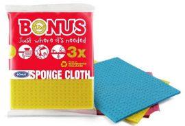 Bonus szivacsos mosogatókendő 3 db-os