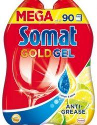 Somat Gold Gél gépi mosogatószer 2x990ml